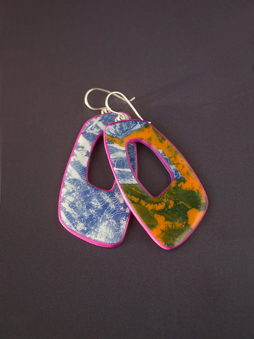 Bright Contemporary Earrings