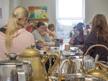 Call in for A Cup of Tea, Community Art Project in Ireland