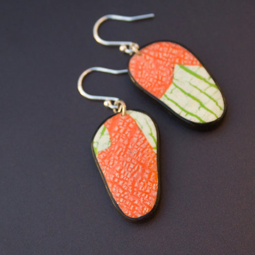 Nature Inspired Contemporary Earrings