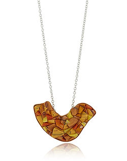 contemporary art necklace jewellery iris