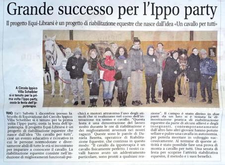 Grande successo per l'Ippo Party