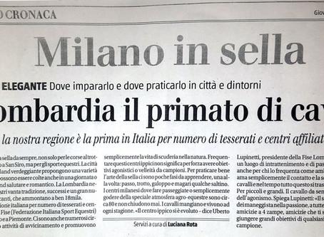 Milano in sella