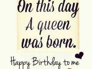 Happy Birthday Me!!!