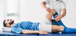 Physiotherapie Leistungssportler Fußballspieler