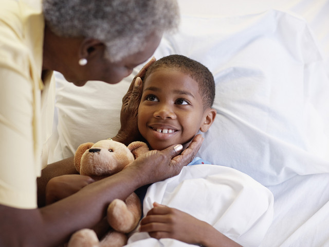 Toque de sanación de la abuela