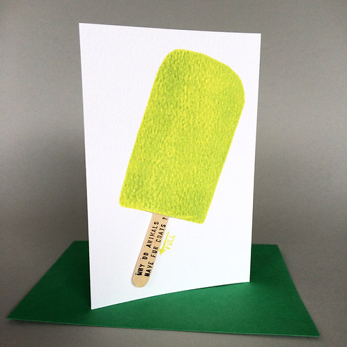 GREEN LOLLY