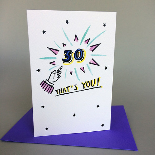 30 THAT'S YOU!