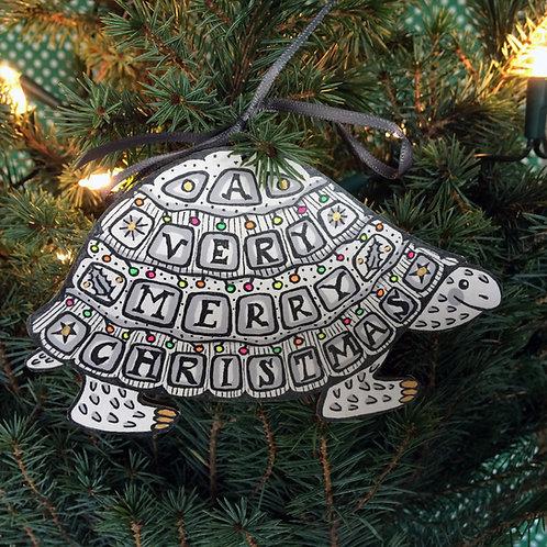 TORTOISE CHRISTMAS DECORATION