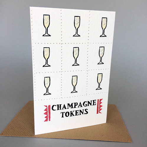 CHAMPAGNE TOKENS