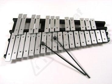 glockenspiel, metallofono