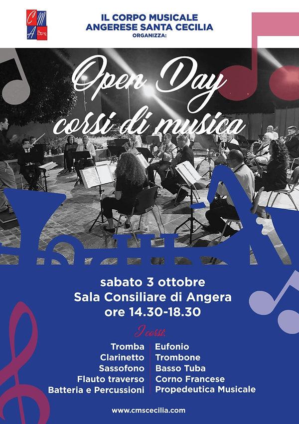 Open day corsi musica Angera
