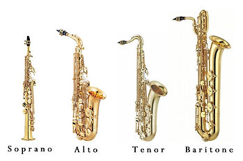 famiglia sassofoni