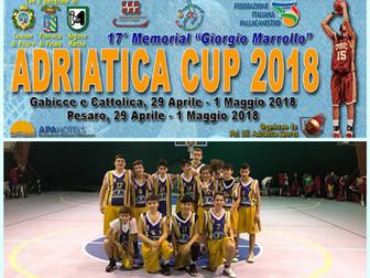 L'Under 14 Basket Bee di scena questo weekend a Pesaro, nell'Adriatica Cup 2018