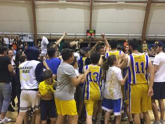 La Promozione Maschile vince al PalalePrate e accede a gara 3. Basket Bee 72 - Basket Ferentino 45