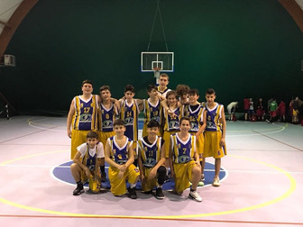 L'Under 14 continua a vincere: Algarve Torrino 41 - Basket Bee 58