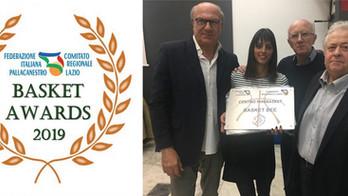 Il Basket Bee premiato dalla FIP Lazio per il lavoro svolto nel settore del Mini Basket