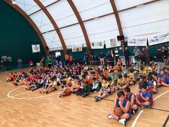 Festa del Mini Basket al Centro Sportivo le Prate con la giornata conclusiva del Trofeo 'Basket