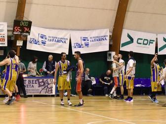 La Serie D torna a vincere: Basket Bee 74 - Sporteam Cisterna 55