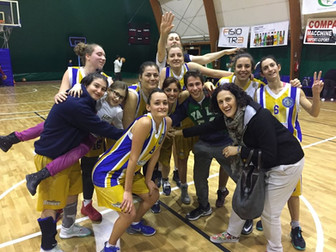 La Serie C vince contro la capolista: Basket Bee 65 - Virtus Bk Albano-Pavona 62