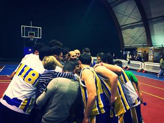 Promozione Maschile prima in classifica: Basket Bee 72 - Futura Sport Cisterna 55