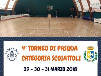 4° Torneo di Pasqua - Categoria Scoiattoli: la classifica finale