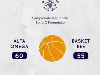 La Serie C non passa a Roma: Alfa Omega 60 - Basket Bee 55