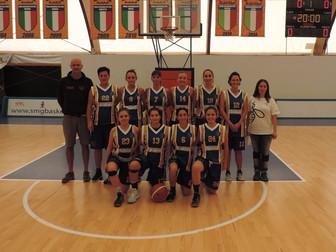 Serie C Femminile a punteggio pieno: Basket Bee - San Raffaele 54-48