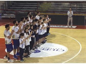 Gara 1 finale play off: la Promozione Maschile sfiora la vittoria. Basket Ferentino 84 - Basket Bee