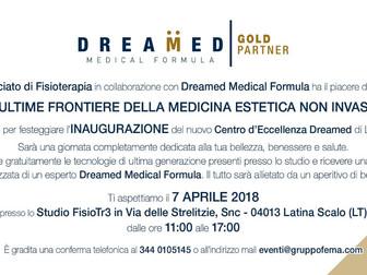 FisioTr3 e Dreamed Medical Formula vi invitano a scoprire la medicina estetica non invasiva