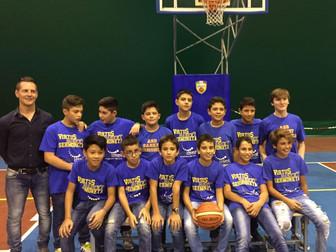 Inizio della preparazione degli Under 13 e Under 14 del Basket Bee Sermoneta
