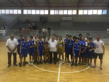 Secondo posto per l'Under 13 del Basket Bee al 2^ Memorial Adriano Baglieri