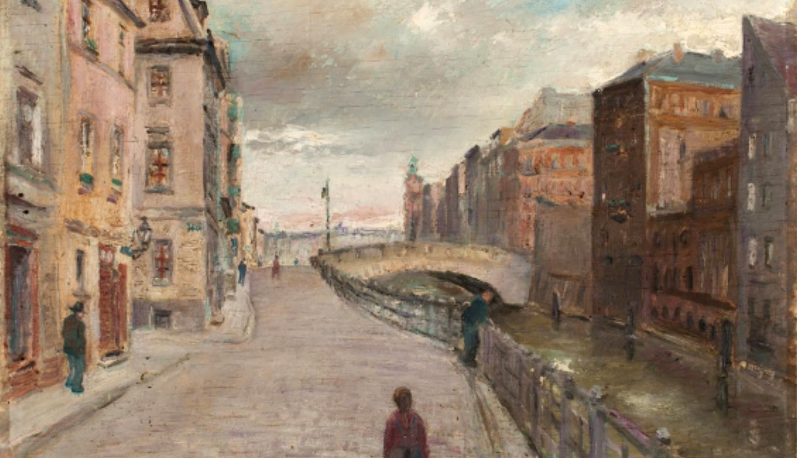Otto Nagel (1942) Friedrichsgracht II