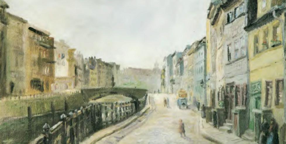 Otto Nagel (1941), Friedrichsgracht I