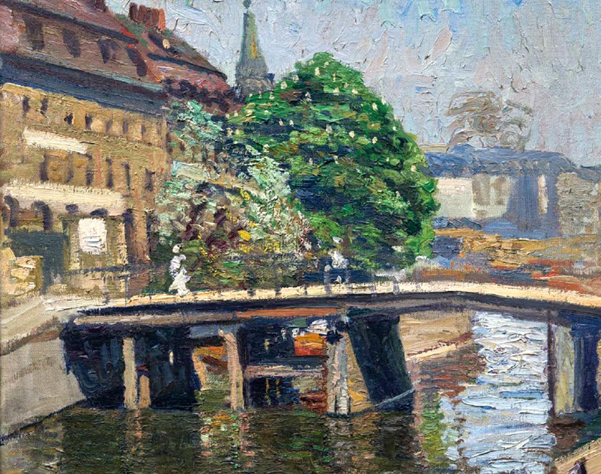 Ulrich Huebner (ca. 1910), Blick auf die Fischerinsel