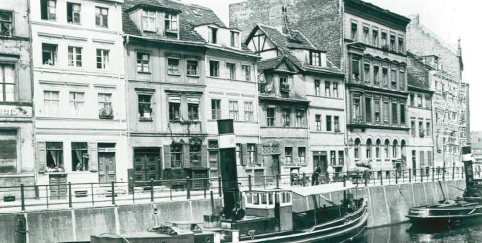 Friedrichsgracht 4-11; Aufnahmedatum um 1930
