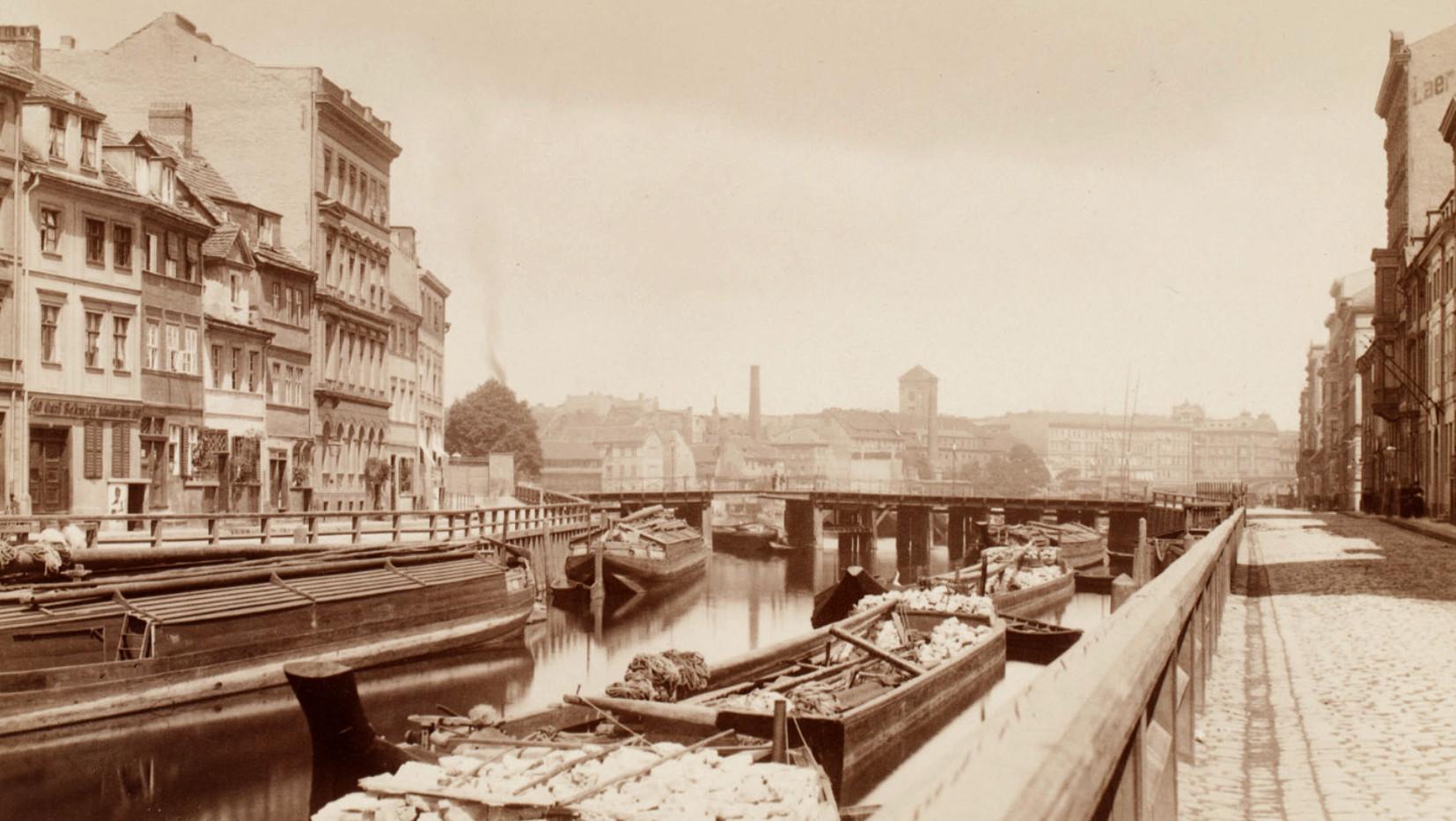 F. Albert Schwartz, Inselbrücke, 1885