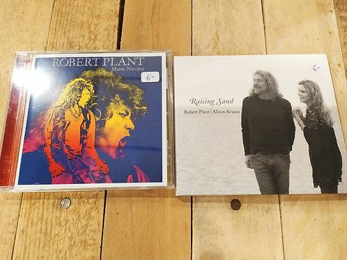 2 CDs de Robert Plant (leader de Led Zeppelin)