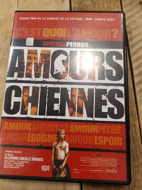 DVD amours chiennes