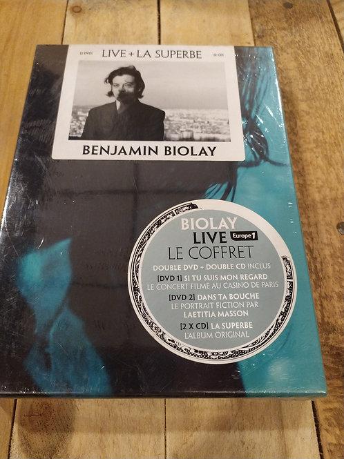 Coffret DVDs live Bioley