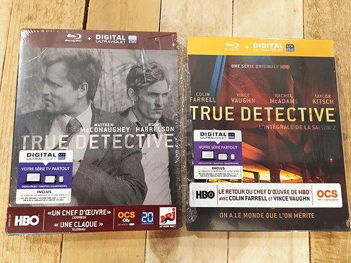 True détective blu-ray saison 2 et 2