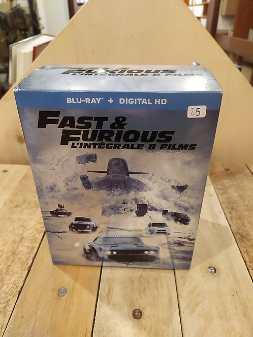 Fast and Furious 8 films blu-ray