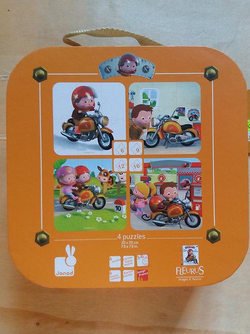 . 4 puzzles moto