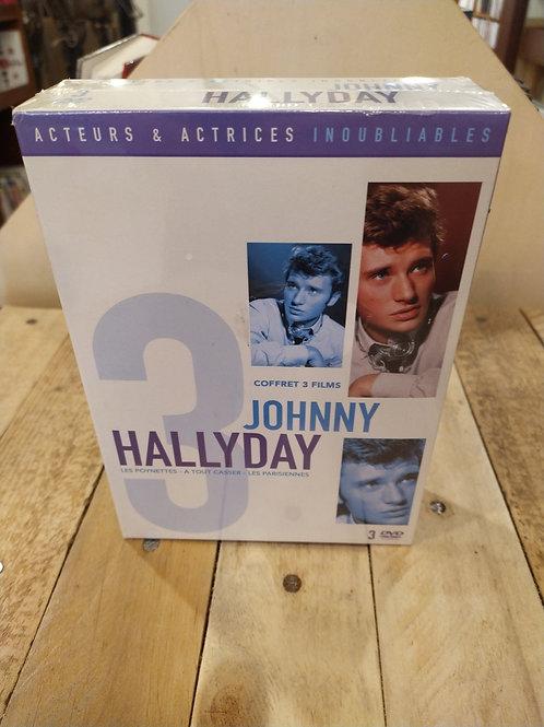 Coffret DVDs 3 films Hallyday