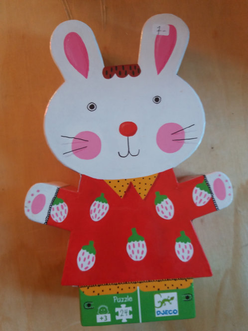 . Puzzle lapin