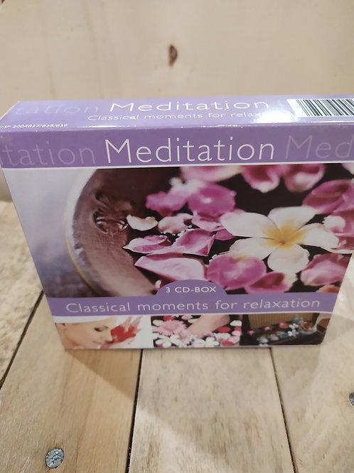 Coffret 3 cds meditation