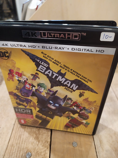 Batman Lego blu-ray 4k