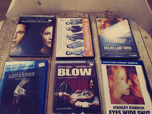 Lot de DVDs Indispensables