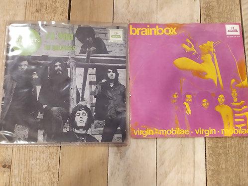 Lot de deux 45 tours de Brainbox