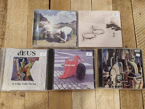 Lot de 5 albums de dEUS