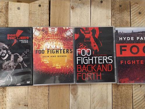 Dvds musicaux Foo fighters